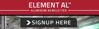 Subscribe To ELEMENT AL - Aluminum Newsletter