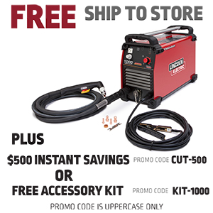 Image For Tomahawk 1000 Plasma Cutter With Hand Torch From The Lincoln Electric Online