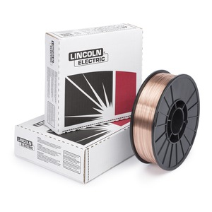 MIG Welding Wire,L-56,.030,Spool LINCOLN ELECTRIC ED023334