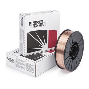ED030632 .035 L-56 Superarc Copper Coated Mid Steel Mig Wire 2 Lb Spool