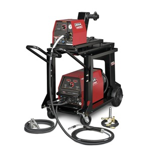 Lincoln Electric's Invertec V350-Pro LF-72 Ready-Pak welding package