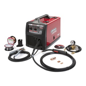 pro mig™ 140 welderLincoln Electric Welder 135 Amp Mig And Fluxcored Wire Feed Welder #14