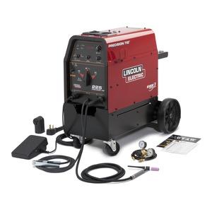 precision tig 225 tig welder ready pak w cart rh lincolnelectric com Lincoln TIG Welder Lincoln Electric Robotic Welding Systems