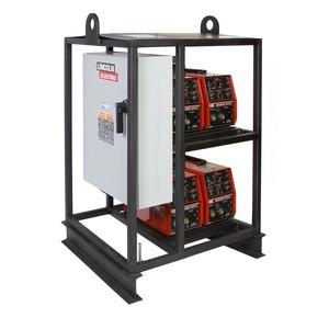 V275-S 4-Pack Inverter Rack Multi-Operator Welder