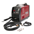 Savings on portable plasma cutting for the construction site or home shop with the Lincoln Electric Tomahawk 375 AIR hand held plasma cutter. $250 instant savings or free accessory kit valued at $467. Free shipping to store at participating dealers.
