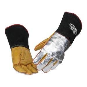 Red Line Heat Resistant Welding Gloves