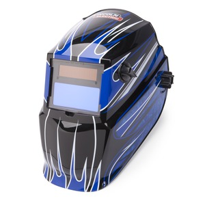 Fierce Blue 600S Variable Shade 9-13 ADF Helmet