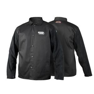 Traditional Split Leather Sleeved FR Cloth Welding Jacket