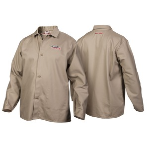 Traditional Khaki FR Cloth Welding Jacket