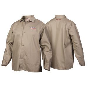 Traditional Khaki FR Cloth Welding Jacket