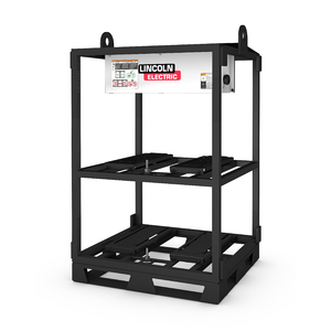 Flextec 350X Empty 4-Pack Rack