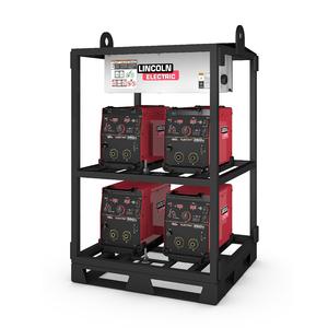 4-Pack Rack Flextec 350X Construction (short rack)