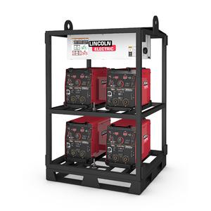 4-Pack Rack Flextec 350X Standard (short rack)
