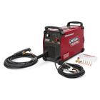 Instant savings on industrial plasma cutting with the Lincoln Electric Tomahawk 1500 hand held plasma cutter. $700 instant savings or free accessory kit valued at $1,633.Free shipping when you have the product shipped to participating dealers.