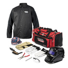 Includes 11 separate PPE, tool or accessory products for all welding processes and oxyfuel cutting