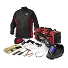 Includes 13 separate premium PPE, tool or accessory products for all welding processes, grinding and plasma/oxyfuel cutting