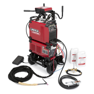 LINCOLN ELECTRIC K1784-4 Tig Torch,250A,Water-Cooled