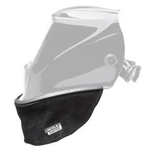 Welding Helmet Bib, Grain Leather